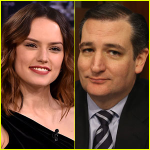 Daisy Ridley Delivers Epic Ted Cruz Burn After He Insults Her 'Star Wars' Character