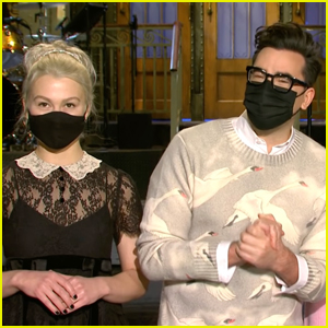 Dan Levy & Phoebe Bridgers Tease Their Upcoming Episode of 'Saturday Night Live' - Watch Now!