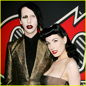 Dita Von Teese Reacts To Marilyn Manson Abuse Claims