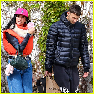 Dua Lipa & Anwar Hadid Pick Up Groceries After Spending Valentine's Day with Friends