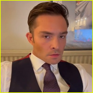 Ed Westwick Joins TikTok, Brings Back Chuck Bass in His First Video