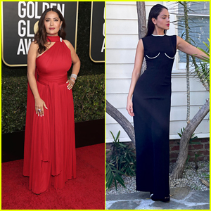 Salma Hayek & Eiza Gonzalez Glam Up Golden Globes 2021