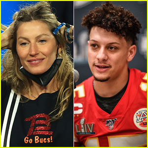 Patrick Mahomes' Mom Tweeted at Gisele Bundchen During 2021 Super Bowl & the Tweet Is Getting Attention