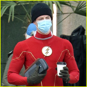 Grant Gustin Spotted On 'The Flash' Set After Baby News