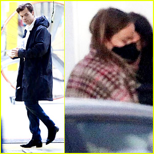 Harry Styles & Olivia Wilde Spotted Back at Work on 'Don't Worry Darling' Movie Set