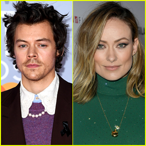 Harry Styles & Olivia Wilde Pose for Wrap Day Photo Together on 'Don't Worry Darling' Set