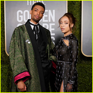 Spike Lee's Kids Jackson & Satchel Lee Arrive in Style for Golden Globes 2021