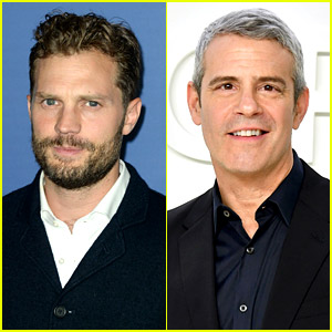 Andy Cohen Asks Jamie Dornan If He Struggled with His Sexuality After Hearing He Loves 'Golden Girls'