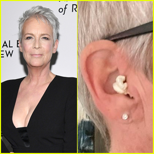 Jamie Lee Curtis Accidentally Put Popcorn in Her Ear Instead of AirPod