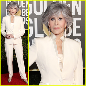 Jane Fonda Re-Wore An Old Suit For Golden Globes 2021