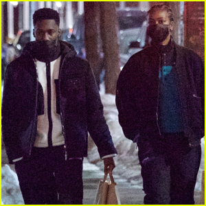 Justine Skye & New Boyfriend Giveon Go For a Stroll After Dinner Date