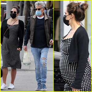 Pregnant Katharine McPhee Gets Lunch at Beverly Hills Hotspot with David Foster