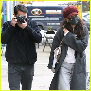 Katie Holmes & Boyfriend Emilio Vitolo Jr. Turn the Camera on the Paparazzi