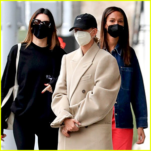 Kendall Jenner, Hailey Bieber, & Joan Smalls Meet Up for Lunch & a Workout