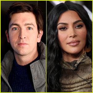 Succession's Nicholas Braun Is Shooting His Shot with Kim Kardashian