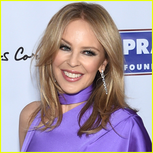 Kylie Minogue Sweetly Shuts Down Rumors She's Engaged to Boyfriend Paul Solomons