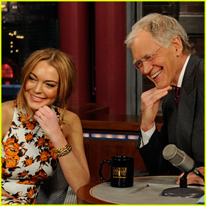 David Letterman Is Getting Backlash for Lindsay Lohan Interview in Which He Pestered Her About Rehab
