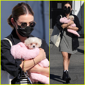 Lucy Hale's New Puppy Ethel Was Once Fostered by This Famous Actress!
