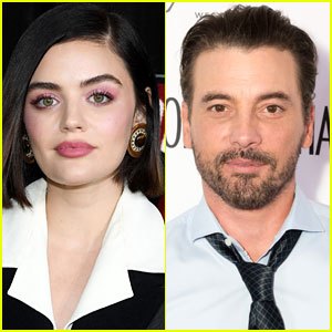 Lucy Hale & Skeet Ulrich Seen Kissing in New Photos!