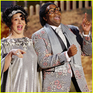 Maya Rudolph & Kenan Thompson Steal the Show in Speech Gone Awry at Golden Globes 2021!
