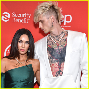 Megan Fox & Machine Gun Kelly Celebrate Their First Valentine's Day Together