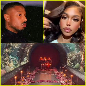 Michael B. Jordan Rented Out an Entire Aquarium for Valentine's Day Date with Lori Harvey!