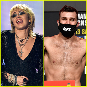 MMA Fighter Julian Marquez Asks Miley Cyrus To Be His Valentine After Fight & She Responds!