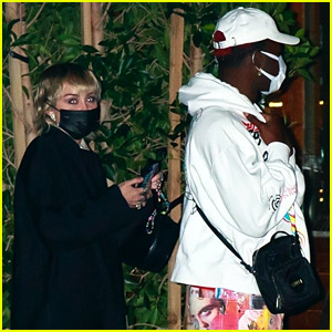Miley Cyrus Dines with Lil Nas X on Friday Night in Malibu