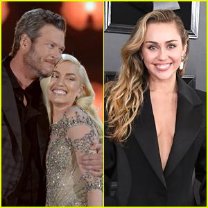 Miley Cyrus Wants To Be The Wedding Singer at Blake Shelton & Gwen Stefani's Wedding!