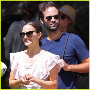 Natalie Portman & Husband Benjamin Millepied Enjoy Family Day at the Park