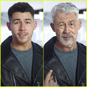 Nick Jonas Turns Into An Old Man By Snapping His Fingers in Dexcom's Super Bowl LV Commercial