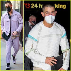 Nick Jonas Drops Funny 'SNL' Promo Video, Wears Cool Fashion in NYC