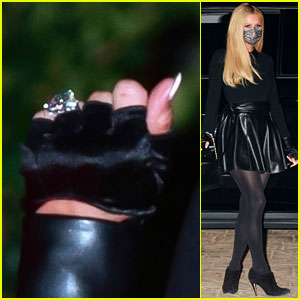 Paris Hilton Flashes Massive Engagement Ring in New Photos!