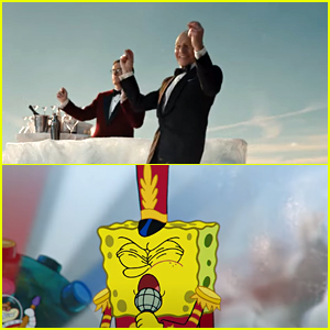 Patrick Stewart Dances To Spongebob Squarepants In Paramount+'s Super Bowl Commercial 2021 - Watch Now!