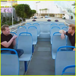 Prince Harry Goes on Tour of L.A. with James Corden - Watch the Full 17-Minute Video!