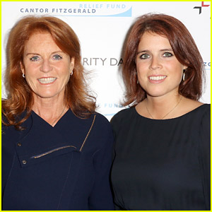 Sarah Ferguson Reacts to Princess Eugenie Giving Birth: 'I'm a Granny!' (Video)