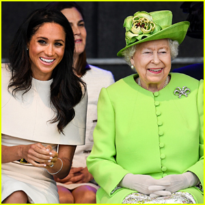 Queen Elizabeth Reacts To Meghan Markle & Prince Harry's Pregnancy News