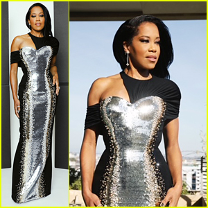 Regina King Shines in Silver For Golden Globes 2021