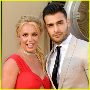 Sam Asghari Pens Sweet Valentine's Day Message to Girlfriend Britney Spears