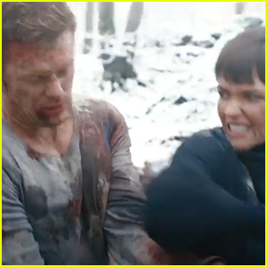 Sam Heughan Fights Ruby Rose In First 'SAS: Red Notice' Trailer - Watch!