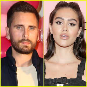 Scott Disick & Amelia Hamlin Enjoy Night Out in Miami with His Kids