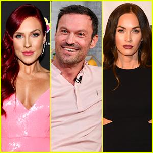 Sharna Burgess Says Brian Austin Green & Megan Fox Are Doing An Amazing Job Co-Parenting