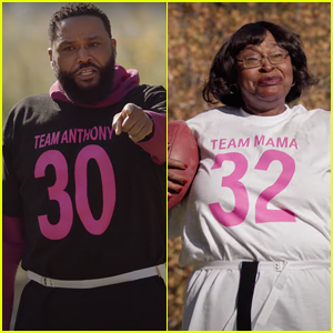 Anthony Anderson Plays Football Against His Mom in T-Mobile Super Bowl Commercial - Watch Now!