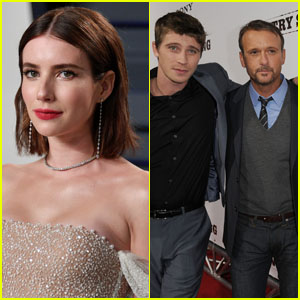 Tim McGraw Is the Godfather of Emma Roberts & Garrett Hedlund's Baby!