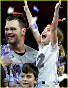 Tom Brady's Wife & Kids - See Photos of Them at His Past Super Bowls!