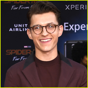 Tom Holland Reveals His First Movie Crush!