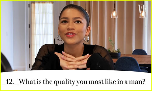 Zendaya Alters Interview Question to Remove the Gender