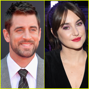 Aaron Rodgers & Shailene Woodley Look So Happy Together at Arkansas Cafe (Photo)