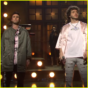 Adam Levine Joins Jack Harlow on 'Saturday Night Live' Stage for 'Same Guy' Performance - Watch!