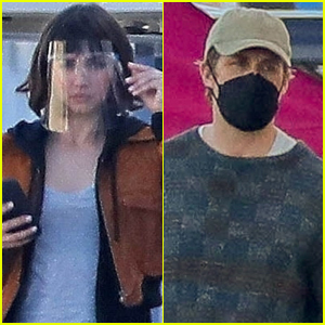 Ana de Armas & Ryan Gosling Stay Safe on Set of New Movie 'The Gray Man'